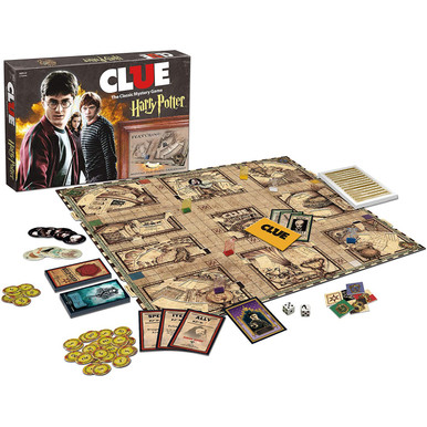 Harry Potter Clue Board Game (USAopoly) CL010-430