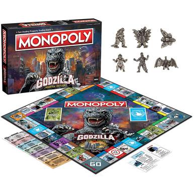Godzilla Monopoly Board Game (USAopoly) MN133-710