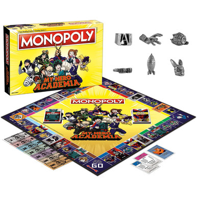 My Hero Academia Monopoly Board Game (USAopoly) MN128-631