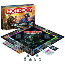 WarHammer 40,000 Monopoly Board Game (USAopoly) MN126-581