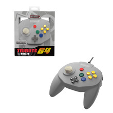 Nintendo 64 Tribute Controller Pad - Classic Grey (Retro-Bit)