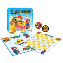 Super Mario Checkers and Tic Tac Toe: Bowser (USAopoly) CM005-637