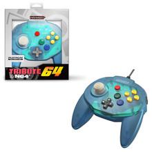 Nintendo 64 Tribute Controller Pad - Ocean Blue (Retro-Bit)