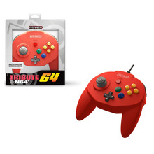 Nintendo 64 Tribute Controller Pad - Red (Retro-Bit) RB-N64-0772