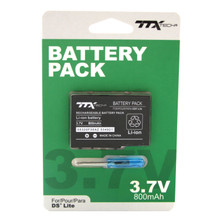 DS Lite Rechargeable Li-ion Battery Pak 800 mAh 3.7V (TTX Tech)