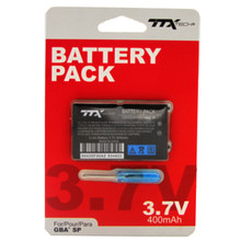 GBA SP Rechargeable Lithium Ion Battery w/ Screwdriver (TTX Tech)