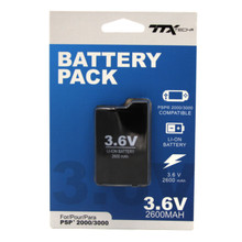 PSP 2000 3000 Slim Rechargeable Battery Pack (TTX Tech) NXPSP2-2455