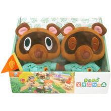 "(2 Pack) Timmy & Tommy - Animal Crossing 5"" Plush (San-Ei) 1794"