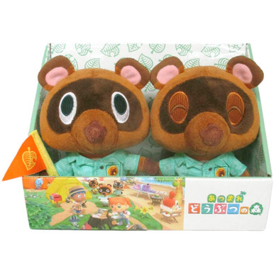 "(2 Pack) Timmy & Tommy - Animal Crossing 5"" Plush (San-Ei) 1794"
