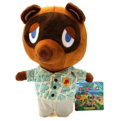 "Tom Nook New Horizon - Animal Crossing 7"" Plush (San-Ei) 1793"