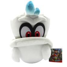 """Cappy White (Mario's Cap) - Super Mario Bros 7"""" Plush (San-Ei) 1658"""