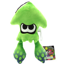 "Inkling Squid Neon Green - Splatoon 9"" Plush (Little Buddy) 1471"