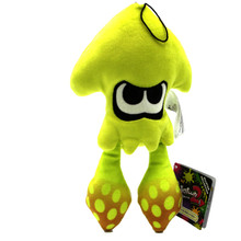 "Inkling Squid Neon Yellow - Splatoon 9"" Plush (Little Buddy) 1434"