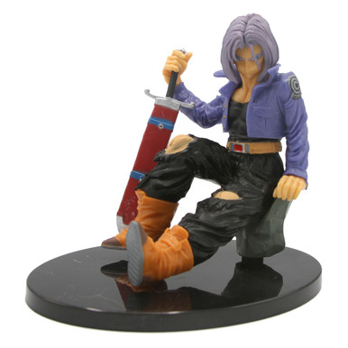 "Sitting Future Trunks - DragonBall Z 6"" Action Art Figure"