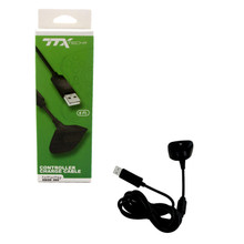 Xbox 360 Controller USB 6' Charge Cable - Black (TTX Tech) NXX360-2714
