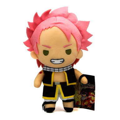 """Natsu Dragneel Stand S7 - Fairy Tail 8"""" Plush (Great Eastern) 53545"""