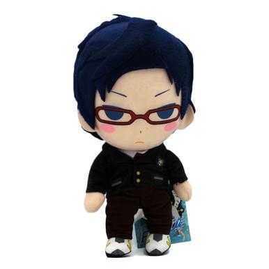 "Rei Ryugazaki Uniform - Free! 9"" Plush (Great Eastern) 52807"