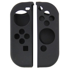 Switch Joy-Con Controller Silicone Skin Protector - Black (Hexir)