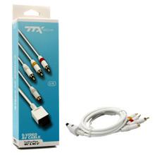 Wii S-Video & AV SAV Cable (TTX Tech) NXW-2776