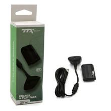 Xbox 360 Play and Charge Pak - Black (TTX Tech) NXX360-3056