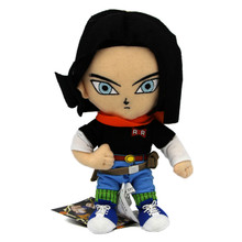 """Android 17 - DragonBall Z 8"""" Plush (Great Eastern) 52718"""