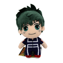 "Deku Sportswear - My Hero Academia 8"" Plush (Great Eastern) 77034"