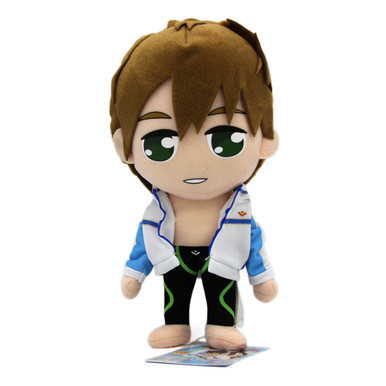 "Makoto Tachibana Swim Outfit - Free! 9"" Plush (Great Eastern) 52668"