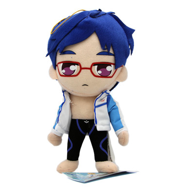 "Rei Ryugazaki Swim Outfit - Free! 9"" Plush (Great Eastern) 52672"