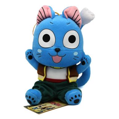 "Happy Niruit Tribe Sit - Fairy Tail 8"" Plush (Great Eastern) 52173"