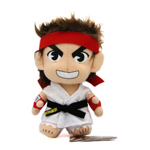 """Ryu Smiling - Street Fighter IV 7"""" Plush (Great Eastern) 87538"""