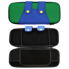 Nintendo Switch Travel Case - Luigi Green & Blue Overalls (Hexir)