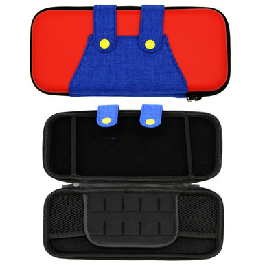Nintendo Switch Travel Case - Mario Red & Blue Overalls (Hexir)