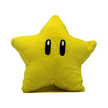 "Super Star - Super Mario Bros 6"" Plush (San-Ei) 1823"