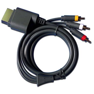 Xbox 360 S-Video & AV SAV Cable - Bulk (Hexir)