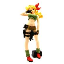 "Launch Blonde DragonBall Z 9"" Action Art Figure"