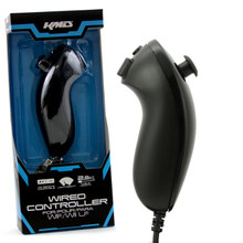 Wii Wired Nunchuk Controller - Black (KMD) KMD-W-8627