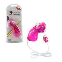 Wii Wired Rock Candy Nunchuk Controller - Pink (PDP) PL-8580