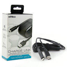 Wii U GamePad USB Charge Link 9' Adapter (Nyko) 87152