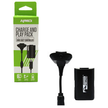 Xbox 360 Play and Charge Pak - Black (KMD) KMD-360-8092