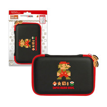 3DS XL Hard Case Pouch - Mario Retro - 3DS/DSi XL/DSi/DS Lite (Hori)