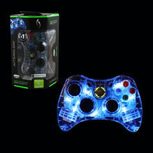 Xbox 360 Wired Afterglow AX.1 Controller Pad - Dark Blue (PDP) PL3702