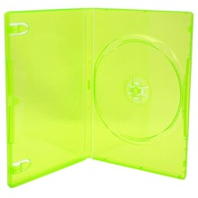 [100 pcs.] Xbox 360 DVD Retail Game Case Media Package - Clear Green
