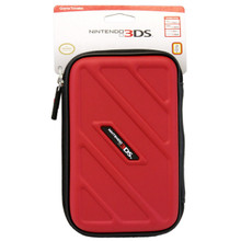 3DSXL Game Travel Case - Red - New 3DS XL/3DS/DSi XL/DSi 3DSXL505
