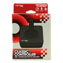 Atari USB Joystick Controller - Black (RetroLink) RB-PC-746