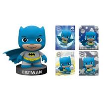 "Batman - DC Universe 2"" Figurine & Puff Sticker (Little Mates)"