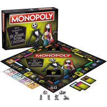The Nightmare Before Christmas - Monopoly Board Game (USAopoly)