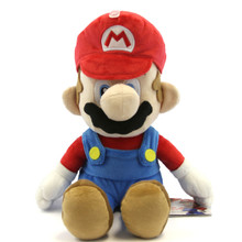 "Mario - Super Mario Bros 14"" Plush (San-Ei) 1583"