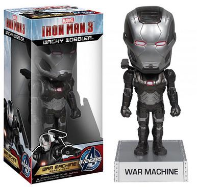 "War Machine - Iron Man 3 7"" Wacky Wobbler Bobble Head Vinyl Figure"