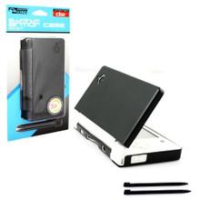 DSi Aluminum Case & Dual Stylus Set - Black (KMD) KMD-DSI-0124