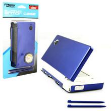 DSi Aluminum Case & Dual Stylus Set - Blue (KMD) KMD-DSI-0131